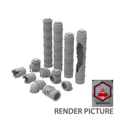 Argon Industrial Pipes