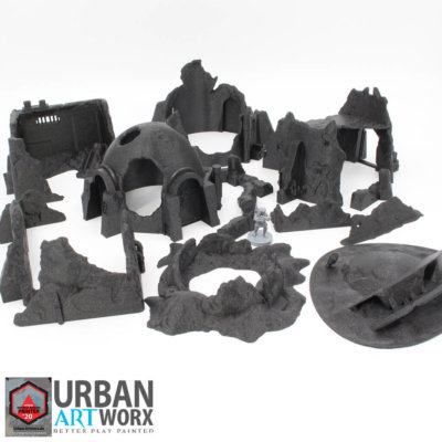 Wrecked Desert Terrain Bundle 1
