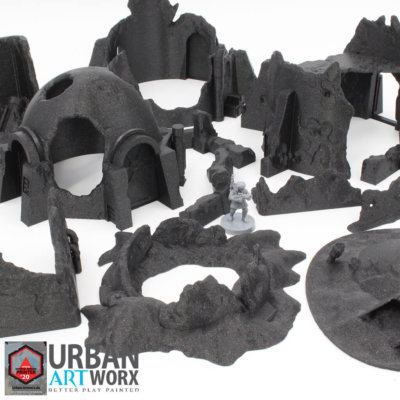 Wrecked Desert Terrain Bundle 2