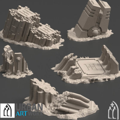 Karnac Ruined Terrain Set