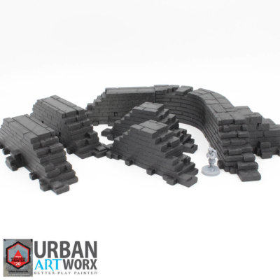 Ancient Ruins Walls Expansion Set
