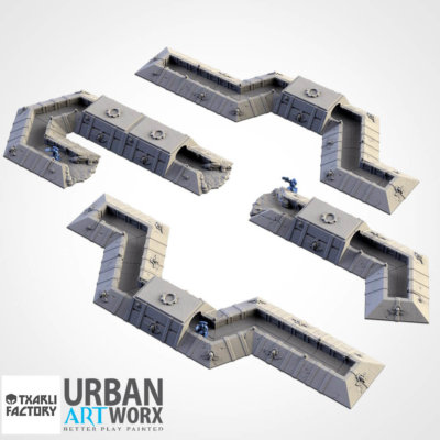 Imperial Trenches Set 1