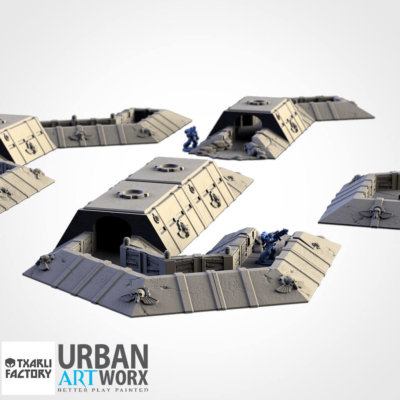 Imperial Trenches Set