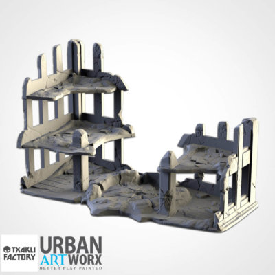 Ruined City Building 1