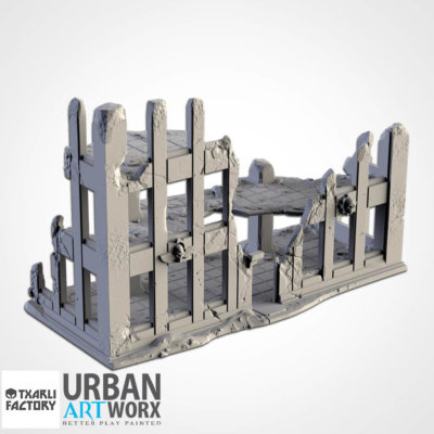 Ruined City Building 2