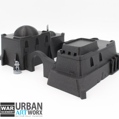 Sandhouse 4 b War Scenery