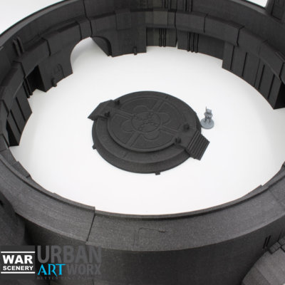 Space Port & Landing Pad 2 War Scenery