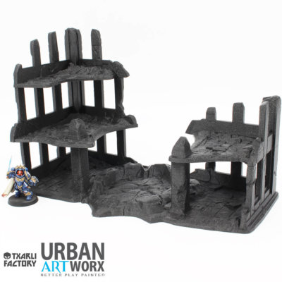 Ruined City Building 1 a