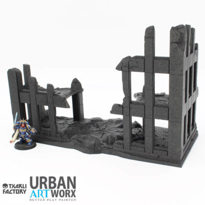 Ruined City Building 1 b