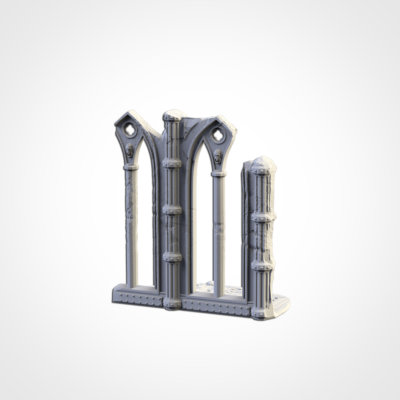 Cathedral Ruin Set
